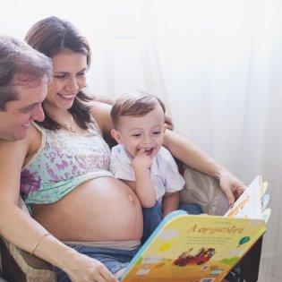 Ensaio gestante – Fernanda e família